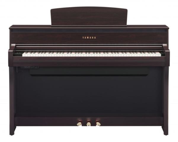 Yamaha CLP-675 dark rosewood klaviatura