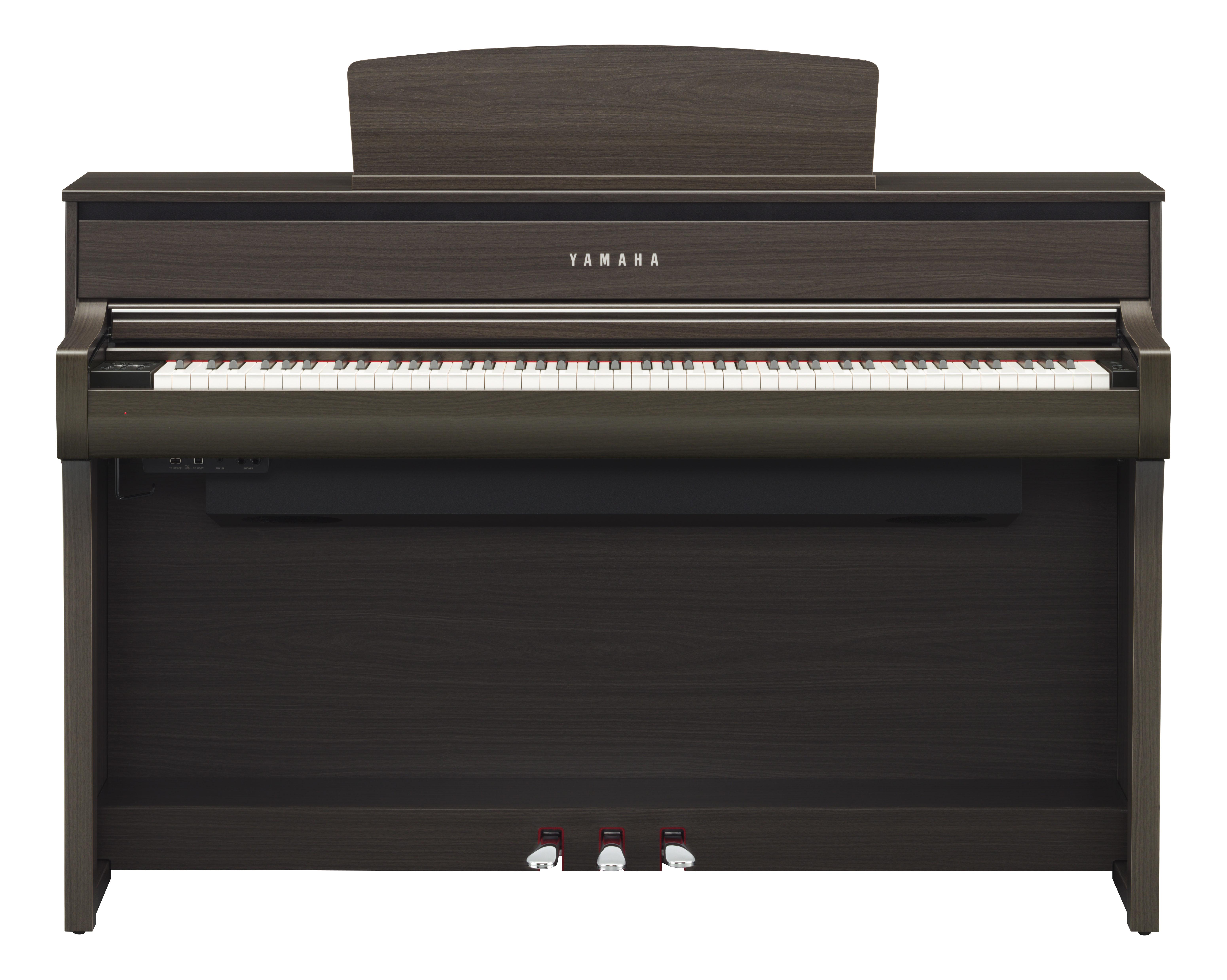 Yamaha CLP-675 dark walnut