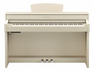 Yamaha CLP-635 bela, klaviatura