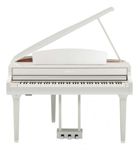 Yamaha CLP-695 GP bela, klaviatura