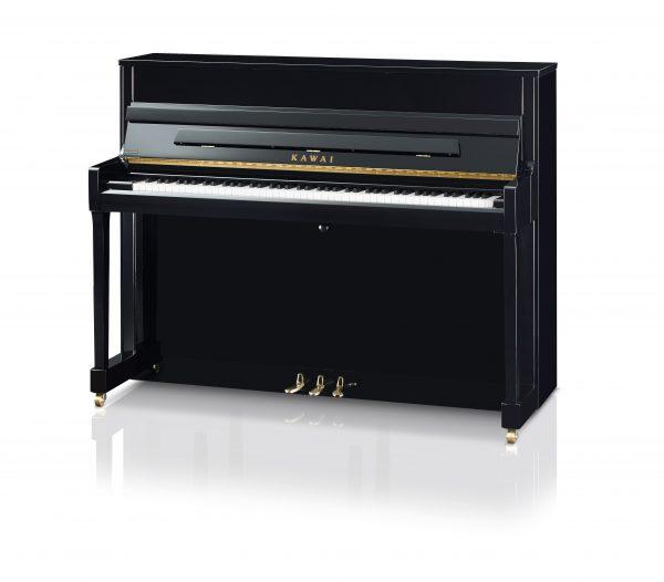 Kawai K-200 črn, zlata pedala