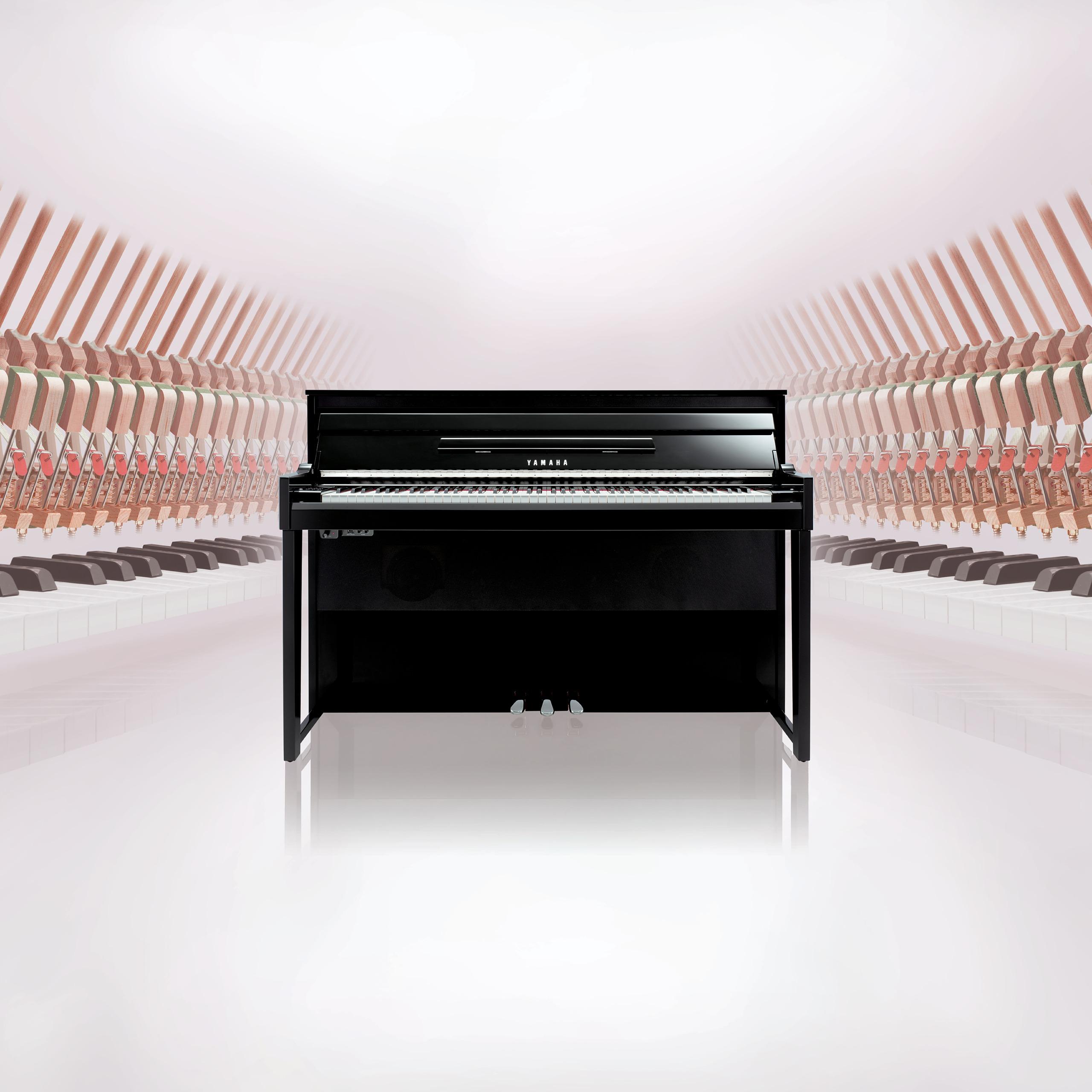 Yamaha AVANTGRAND NU1X klaviatura