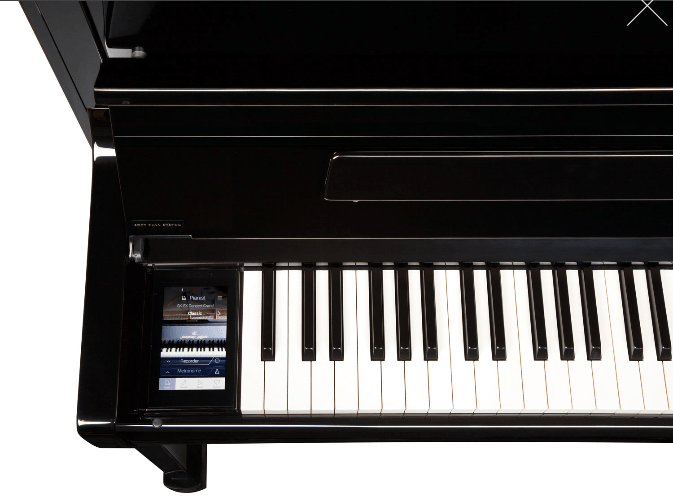 Kawai Aures klaviatura