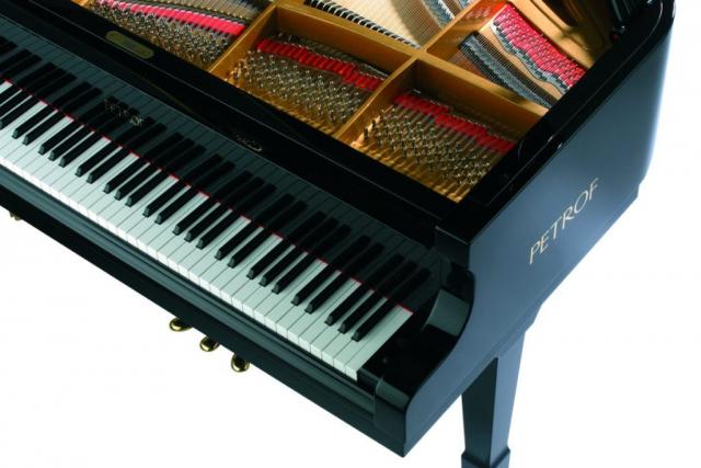 Petrof P-194 Storm klaviatura