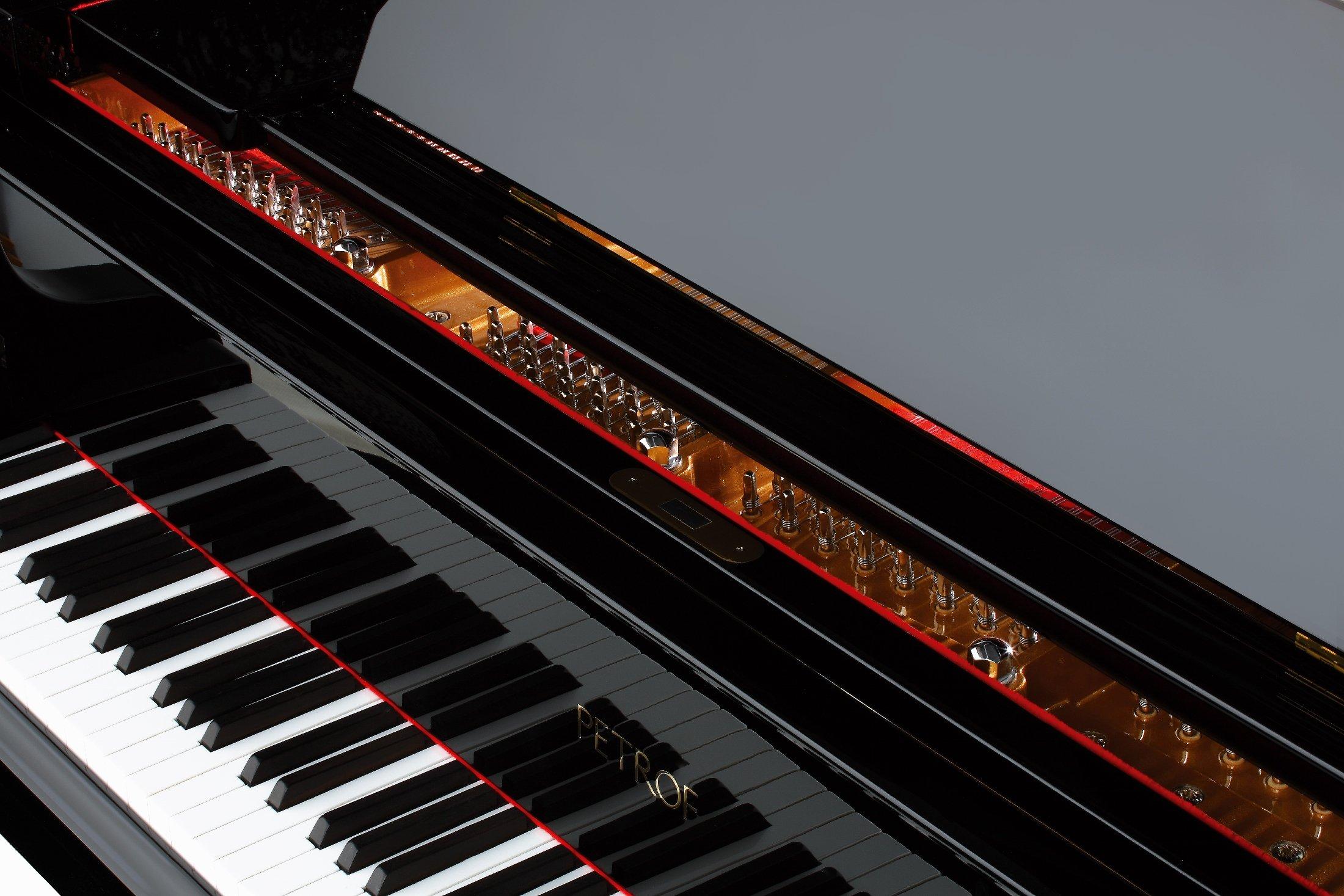 Petrof P-237 Monsoon klaviatura
