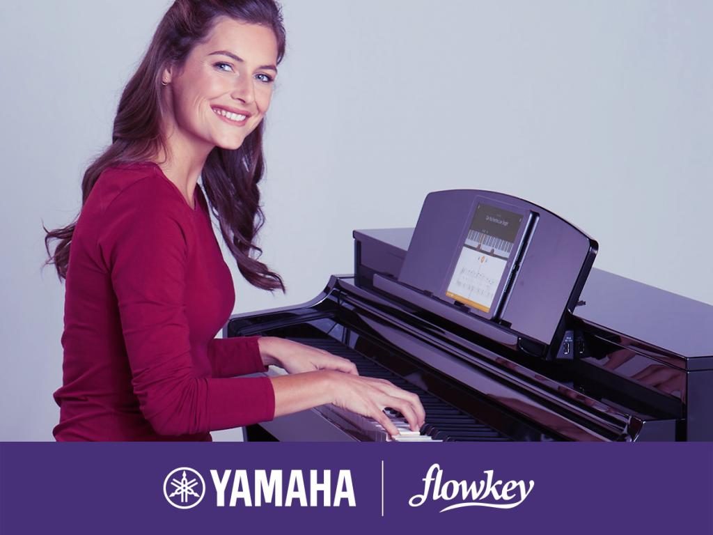 Yamaha Flowkey app