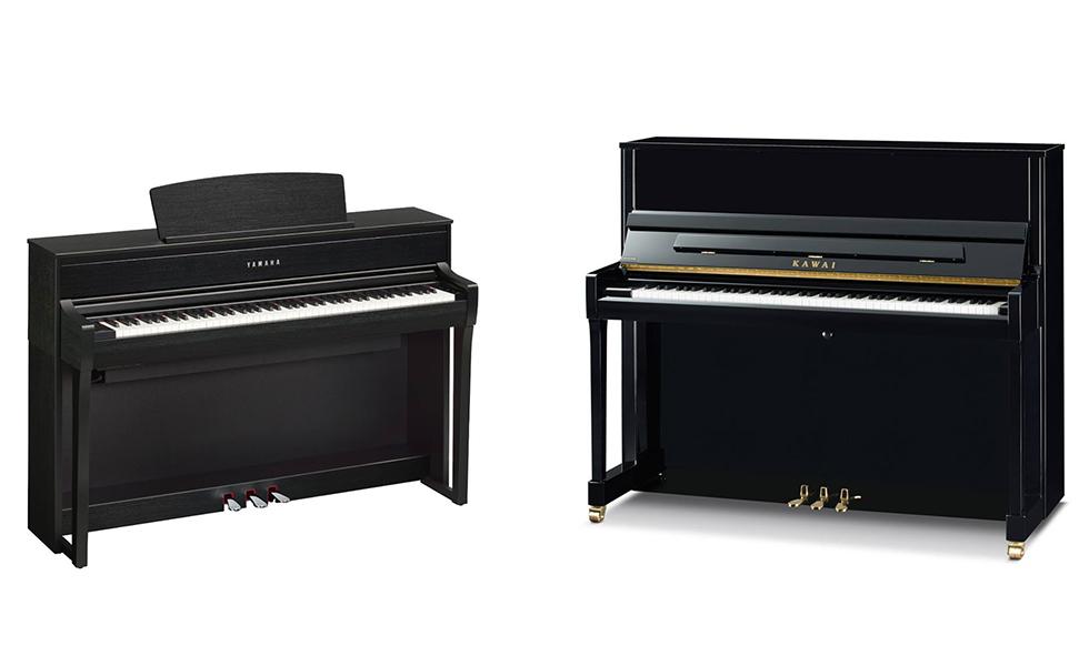 Klasični ali digitalni klavir oz. pianino